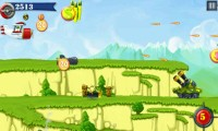 Fly Boy - Collect extra points and avoid bullets and bombs.