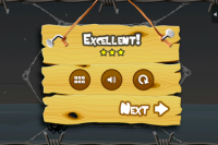Greedy Spiders Level Done