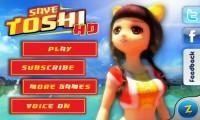 Save Toshi - Menu