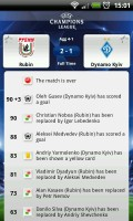 UEFA Champions League Edition - Match events