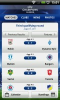 UEFA Champions League Edition - Recent matches