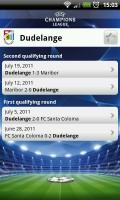 UEFA Champions League Edition - Team page