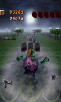 Zombie Runaway - Lots of dodging and jumping skills required