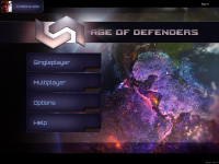 Age of Defenders Start Screen