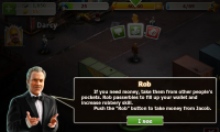 Crime Story - Mugging people is a way to make fast money... in the game!