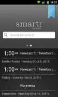 Smartr - Events screen