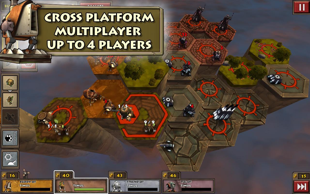 Greed Corp HD Cross Platform Multiplayer