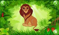 Kids Connect the Dots - Lion