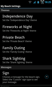 My Beach HD - Themes