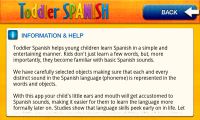 Toddler Spanish - Info and help