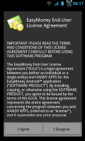 EasyMoney - License agreement