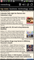 Newshog Google News Reader Top News Stories