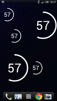 Circle Battery Widget - Various sized widgets