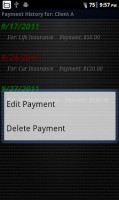 Client Manager Edit Payment History