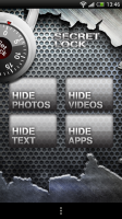 Secret Lock - Choose from photos, videos, texts and apps