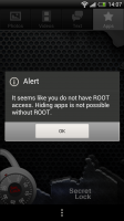 Secret Lock - Root access required for hiding apps