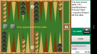 Backgammon GC - Opponent left table :(