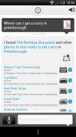 Evi - List of local curry outlets