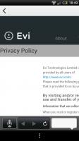 Evi - Privacy policy