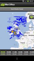 Met Office - Rainfall map