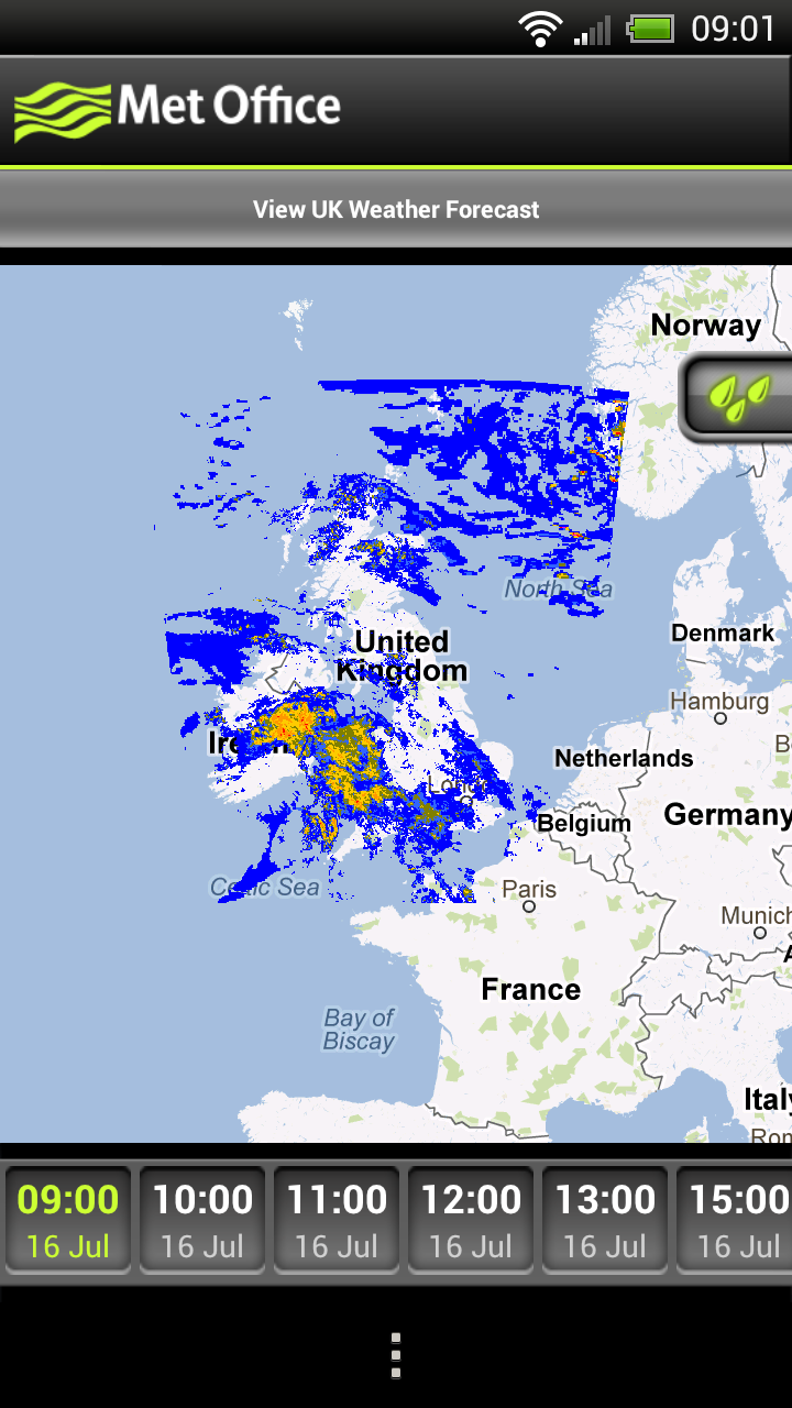 Met office weather application most accurate weather app for the uk androidtapp - Www met office weather forecast ...