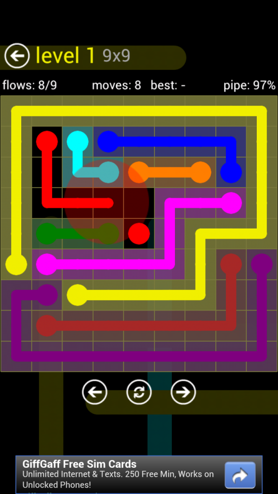 Flow Free, an Addictive Puzzle Game