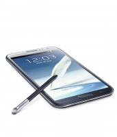 GALAXY Note II Flat Angle View in Blue