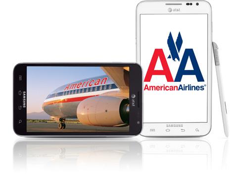 American Airlines Flight Attendants will Using Samsung Galaxy Note in-flight