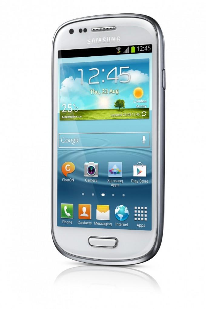 Galaxy S3 Mini Angle View