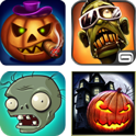 Halloween Apps Collage