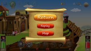 Wars Online - Pause menu
