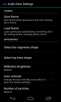 Audio Glow Music Visualizer - Settings 3