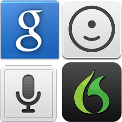 Icons Best Voice Search Android Apps
