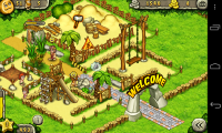 Prehistoric Park - Park running nicely