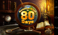 Around the World in 80 days - Splash page