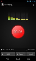 Smart Voice Recorder - Recording