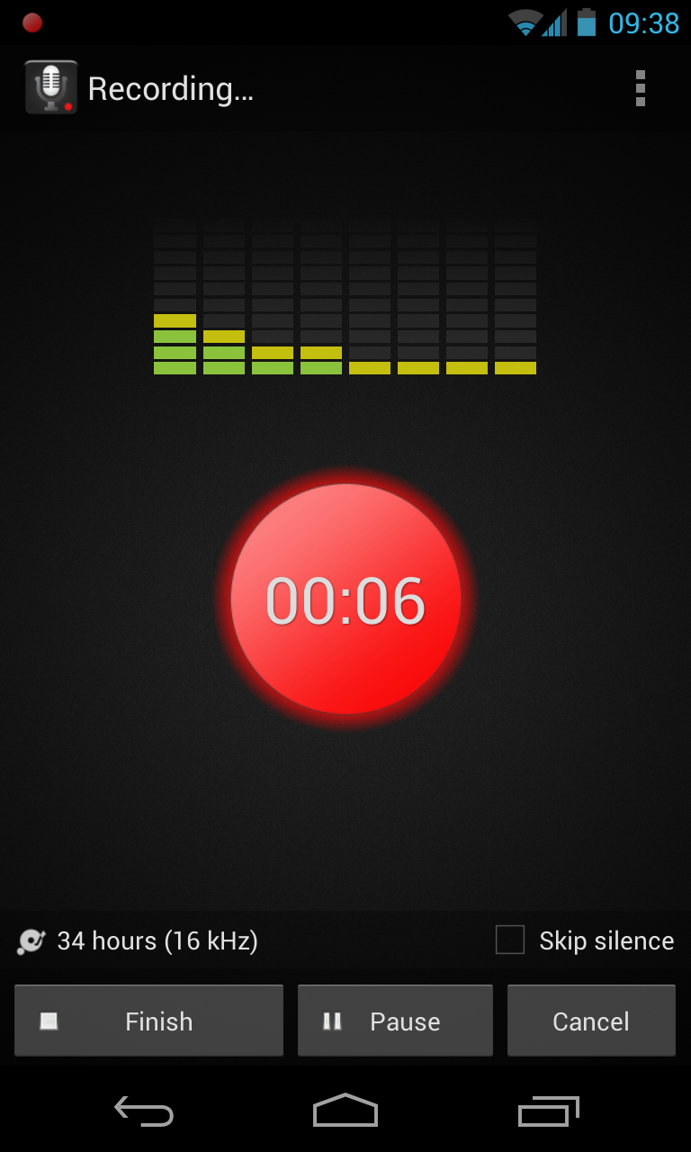 Smart Voice Recorder The Name Says It All Androidtapp