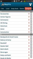 Free Find Best Price App BuyVia - Categories