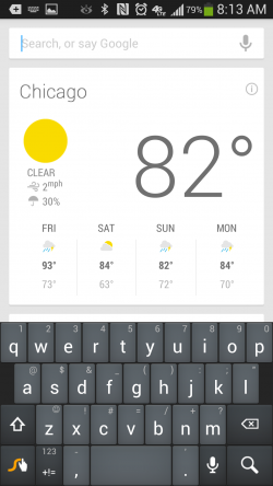 How to Quick Access Google Now Search?