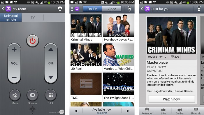 How to use Samsung Galaxy S4 as TV Remote