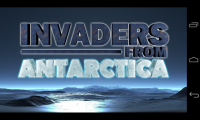 Invaders from Antarctica - Title page