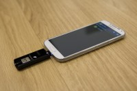 Leef Bridge USB Drive in Phone 2