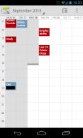 Calendar++ - Calendar view
