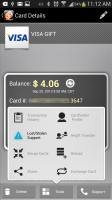 GoWallet Mobile - Card Options