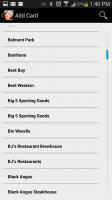 GoWallet Mobile - Select Retailer