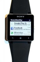 WatchNotifier on Sony Smartwatch 2