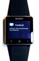 WatchNotifier on Sony Smartwatch 4