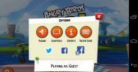 Angry Birds Go - Settings