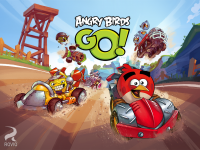 Angry Birds Go - Splash Page