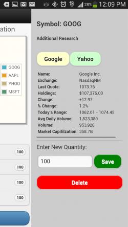 Stock Slots Pro - Symbol Research